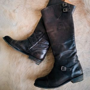 FRYE riding boots, size 10